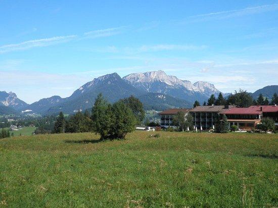 Alm- & Wellnesshotel Alpenhof: View across the hotel grounds