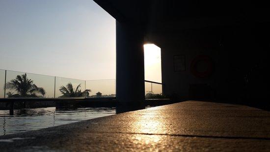 Kuta Seaview Boutique Resort & Spa : 房外泳池