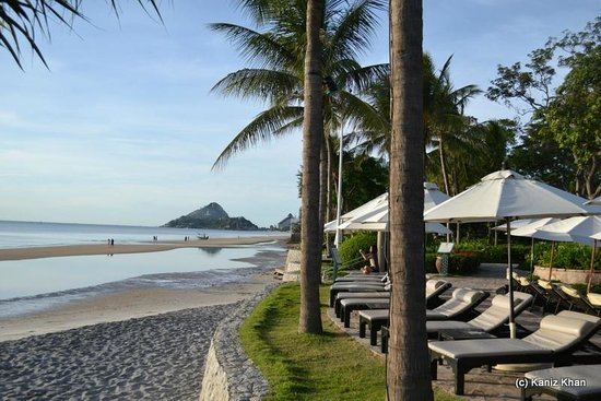 Hyatt Regency Hua Hin: Sea view