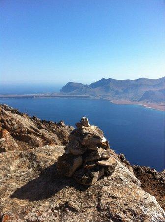 Riserva Naturale Orientata Monte Cofano : Che spettacolo arrivare in cima!