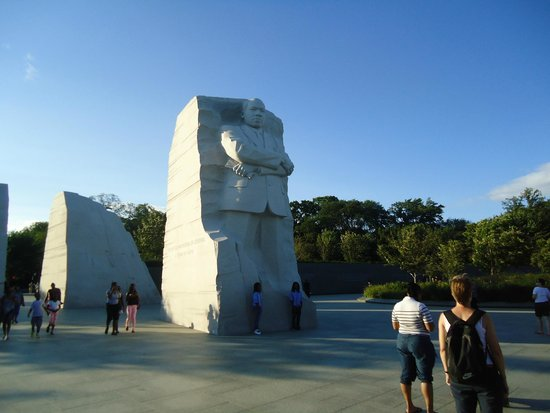 Martin Luther King, Jr. Memorial : The rock solid icon for modern civilization.