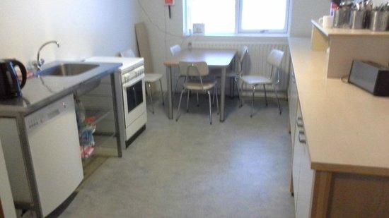 Hotel Geysir: kitchen