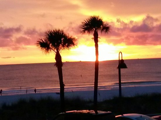 Sun-set view from Keystone Motel