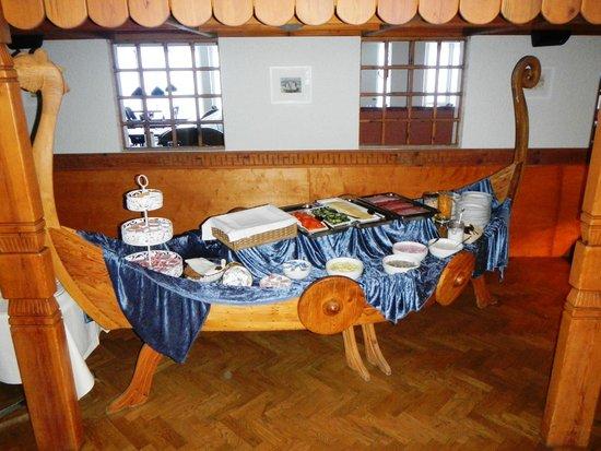 Hotel Geysir: breakfast