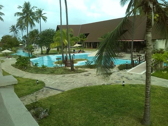 Amani Tiwi Beach Resort: Good view from room