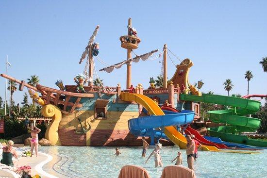 PortAventura Aquatic Park: bateau des pirates