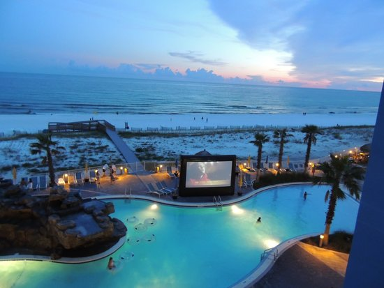 Holiday Inn Resort Fort Walton Beach Beautiful Sunset To Enjoy While Watching Movie