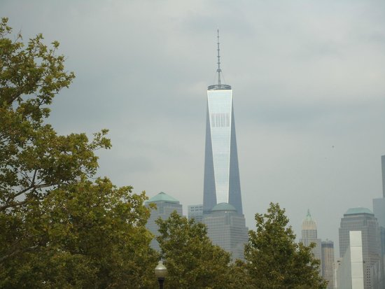Manhattan Skyline : The towering Freedom Tower which becomes the highest building at 1776 feet.