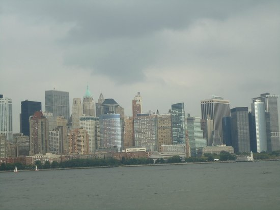 Manhattan Skyline : Looks like matchboxes stacked on one another.