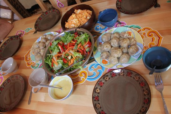 Dream Adventure Mongolia : Amazing home-made meal made by Jeannett