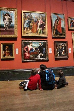 Galería Nacional: visite en famille