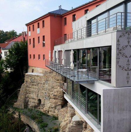 Hotel Rajska Zahrada: Hotel´s restaurant...