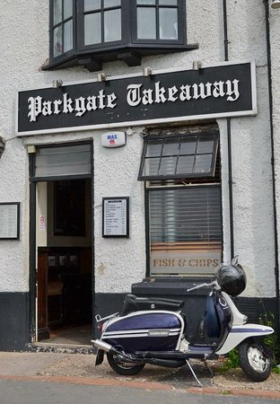 Parkgate Fish and Chips: Parkgate chippy