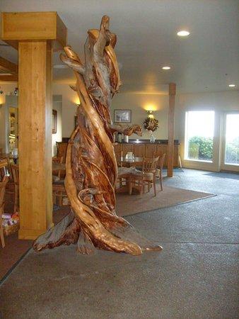 Overleaf Lodge & Spa: Lobby/breakfast area