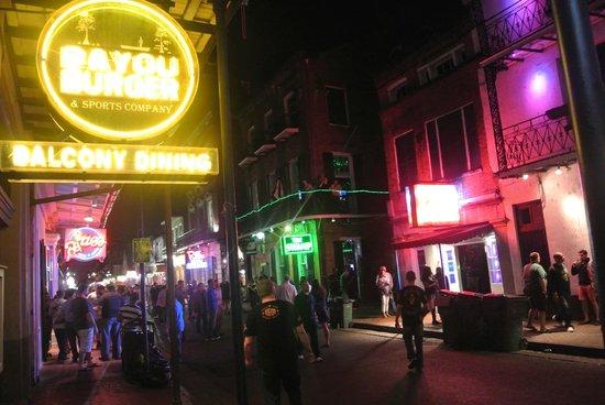 Hotel Monteleone: Bourbon Street