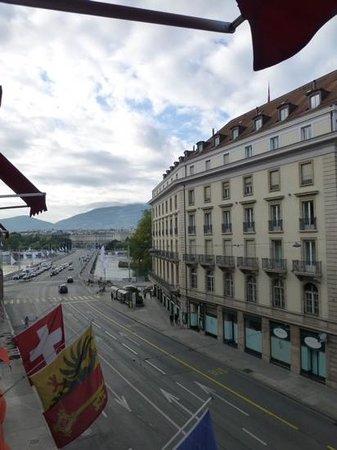 Hotel Bristol: vista da janela