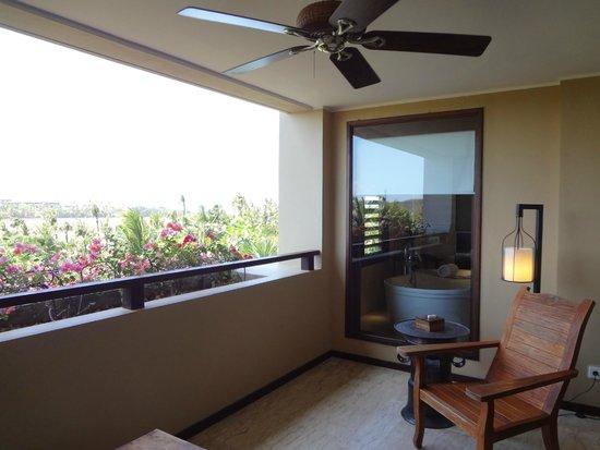 The St. Regis Bali Resort: Balcony