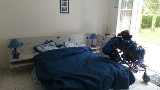 L'Escale de la Baie de Somme : Kingsize bed