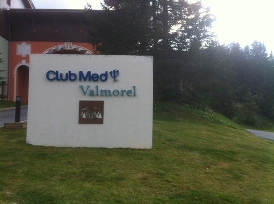 Club Med Valmorel : arrivee