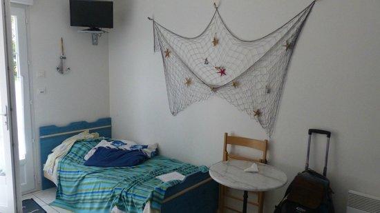 L'Escale de la Baie de Somme : Single bed