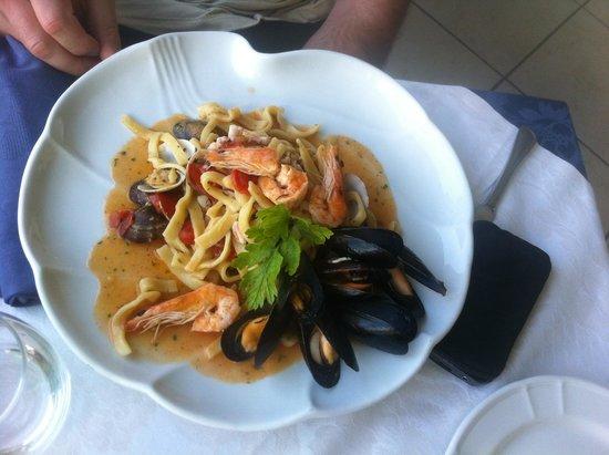 La Capannina: Scialatielli ai frutti di mare