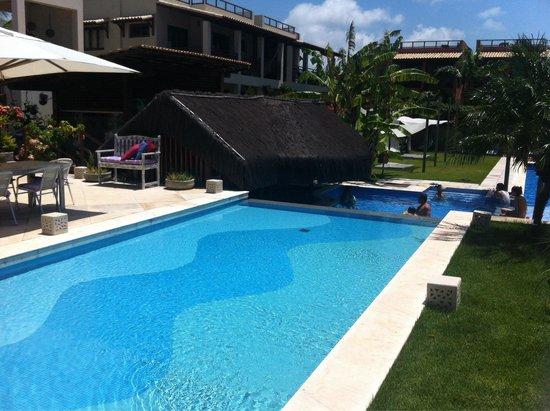 Pipa Beleza Spa Resort: Piscina central