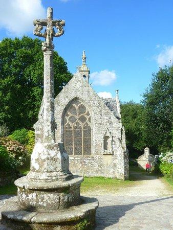Chapelle Notre-Dame-de-Bonne-Nouvelle : Calvaire, chapelle et fontaine