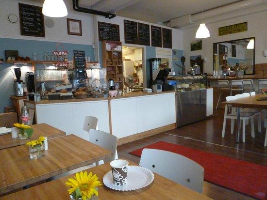 Bakefri Cafe : L'intérieur