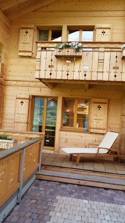Aspen Alpin Lifestyle Hotel Grindelwald: our room balcony