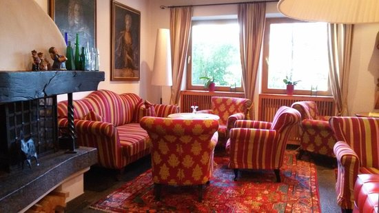 Rubner's Hotel Rudolf: Salotto
