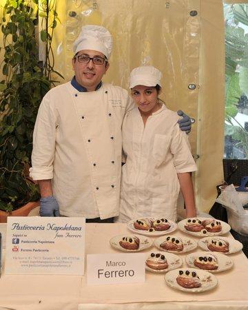 Pasticceria Napoletana Ferrero : Marco Ferrero della Pasticceria Napoletana di Taranto
