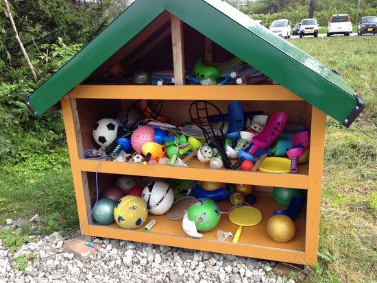 Lake-Hill Farm : 無料の遊具