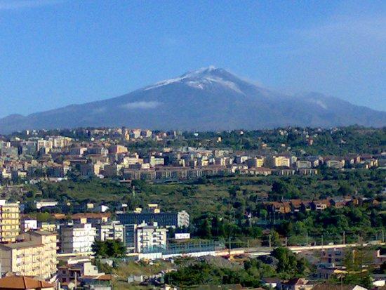 Lognina B&B: vista dell'Etna