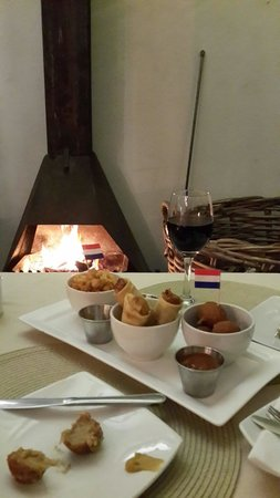Dutchies: Calamari, Spring Rolls, Bitterballen and Jazz Music.