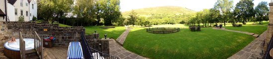 Losehill House Hotel & Spa: Panoramic view