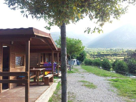 Camping Cadi Vacances: Cabañas