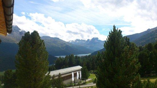 Berghotel Randolins: Aussicht aus dem Zimmer
