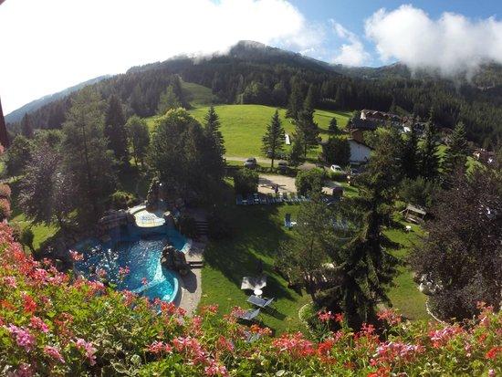 Harmony's Hotel Kirchheimerhof : panorama dalla camera