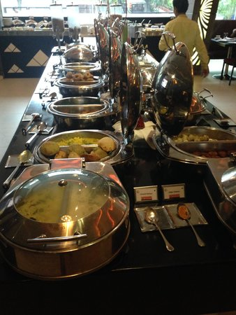 Fortune Park Vallabha: Counter