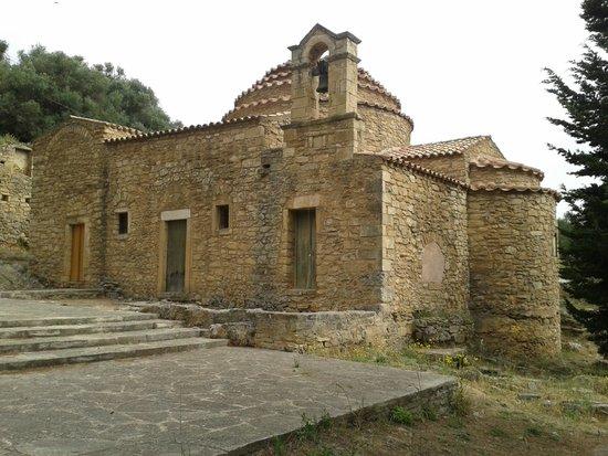 Episkopi, اليونان: La Rotonda: lato posteriore