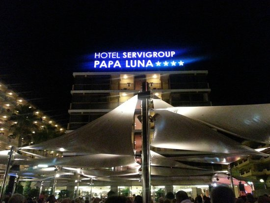 Servigroup Papa Luna: Desde la terraza