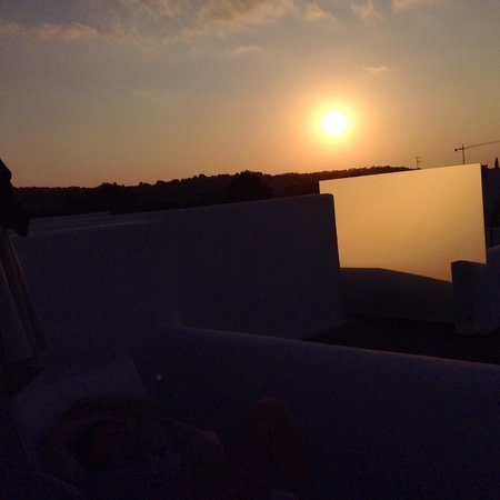 Ses Pitreras : View from rooftop terrace