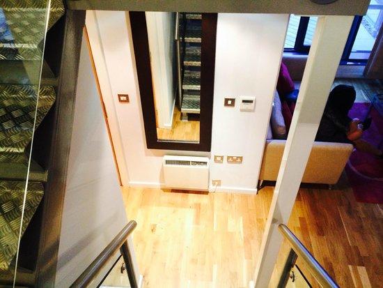 SACO Birmingham - Brindleyplace: Stair view