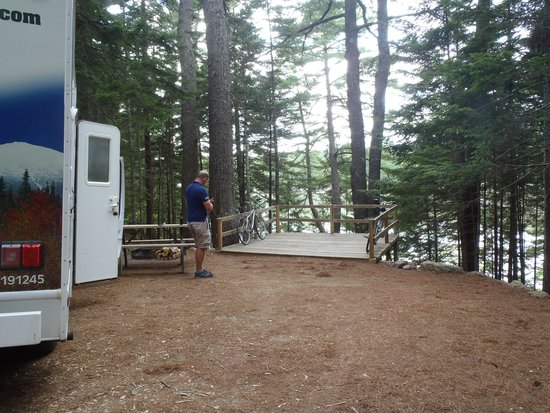 Mount Desert Campground: another view