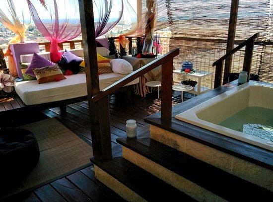 Hotel La Cumbre: Zona de alquiler
