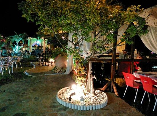 Hotel La Cumbre: Jardines