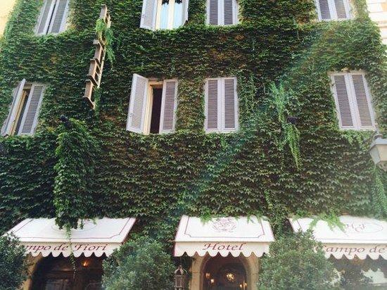 Boutique Hotel Campo de Fiori: Hotel entrance