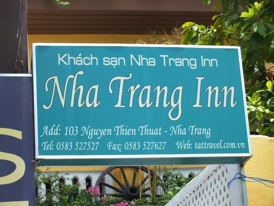 Nha Trang Inn: Not easy to find. Use the transfer to go there arranged by them.