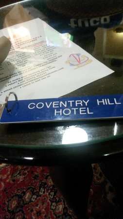 Coventry Hill Hotel: hotel name