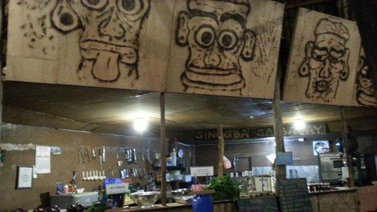 KT's Sinugba Sa Balay: the kitchen